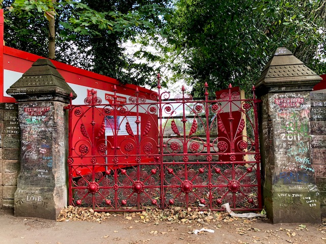 Strawberry Field gates
